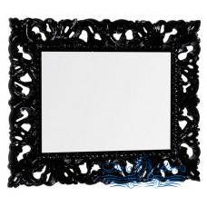 Зеркало Iside Calipso 100 орех (черный глянец)