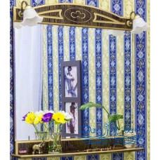 Зеркало Sanflor Адель 100 (венге/золото)