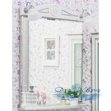 Зеркало Sanflor Адель 65 (белый/серебро)