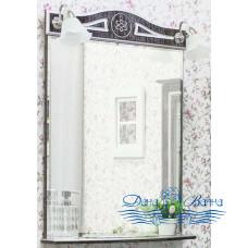 Зеркало Sanflor Адель 65 (венге/серебро)