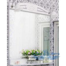 Зеркало Sanflor Адель 82 (белый/серебро)