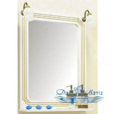 Зеркало Sanflor Каир 120 (белый)