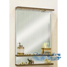Зеркало Sanflor Румба 60 (венге/золото)