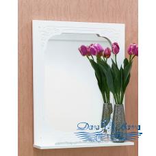 Зеркало Sanflor Венеция 60 (белый)