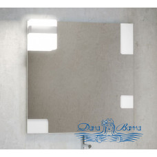 Зеркало Smile Санторини 100 (белый)