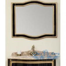Зеркало Timo Ellen 900 (чёрный с золотом)